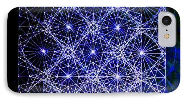 Space Time At Planck Length Vibrating At Speed Of Light Due To Heisenberg Uncertainty Principle Phone Case by Jason Padgett
