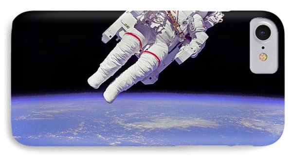 IPhone Case featuring the photograph Space Walk 1 by Rod Jones