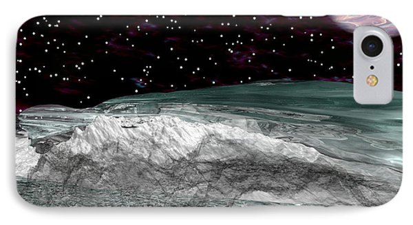 Space Waves IPhone Case