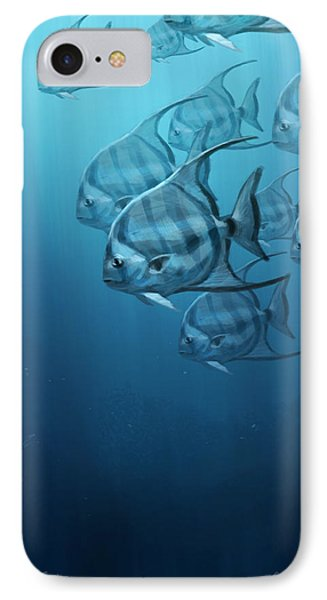 Spade Fish IPhone 7 Case by Aaron Blaise