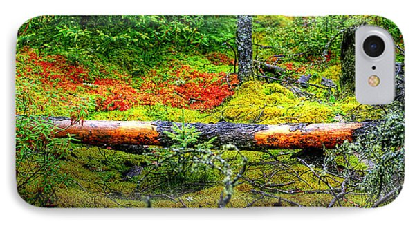 IPhone Case featuring the photograph Spagnum Moss On The Fen  by Larry Trupp