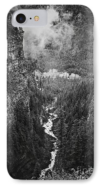 Spahats Creek Canyon In Wells Gray Provincial Park IPhone Case by Elena Elisseeva