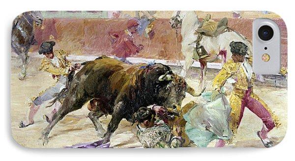 Spain - Bullfight C1900 Phone Case by Granger