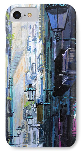 Barcelona iPhone 7 Case - Spain Series 06 Barcelona by Yuriy Shevchuk