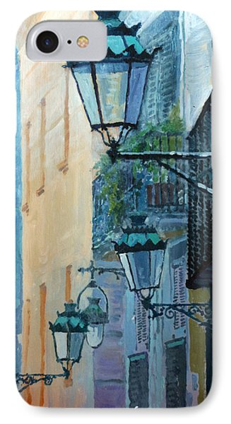 Spain Series 07 Barcelona  IPhone Case by Yuriy Shevchuk
