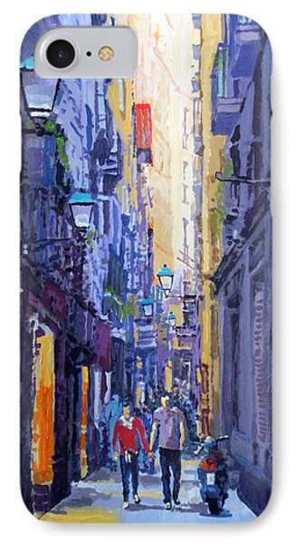 Spain Series 10 Barcelona IPhone Case by Yuriy Shevchuk