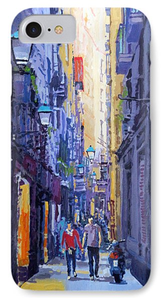 Barcelona iPhone 7 Case - Spain Series 10 Barcelona by Yuriy Shevchuk