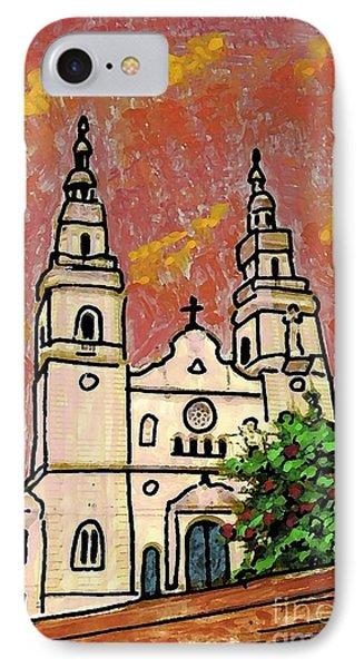 Spanish Church Phone Case by Sarah Loft