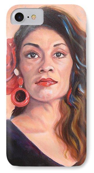Spanish Eyes IPhone Case by Susan Duda