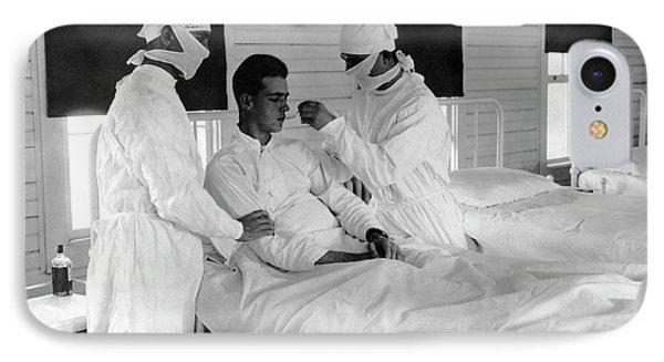 Spanish Flu Nursing Ward IPhone Case