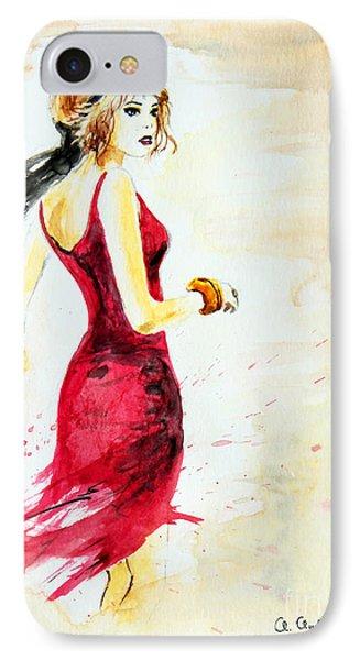 Spanish Girl Phone Case by Anna Androsovski