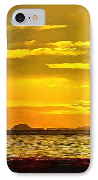 Spanish Marine Sunset IPhone Case by Mick Flynn