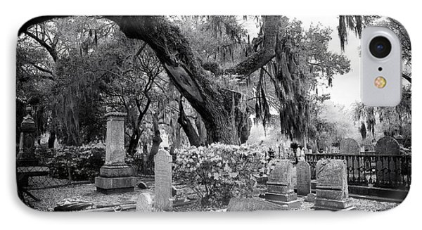 Spanish Moss In The Cemetery IPhone Case