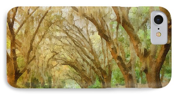 Spanish Moss - Symbol Of The South Phone Case by Christine Till