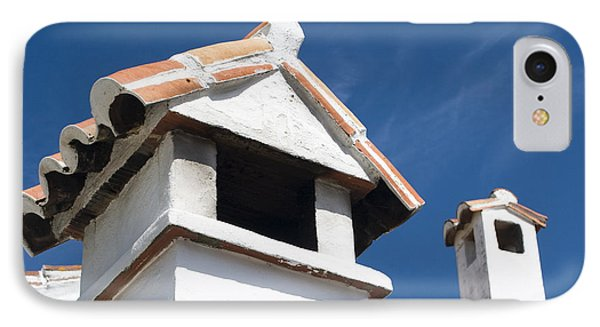 Spanish Rooftops Phone Case by Anne Gilbert