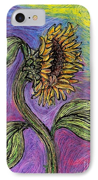 Spanish Sunflower Phone Case by Sarah Loft
