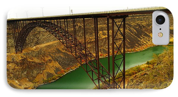 Spanning The Snake River At Twin Fall  IPhone Case