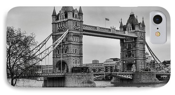 Spanning The Thames Phone Case by Heather Applegate