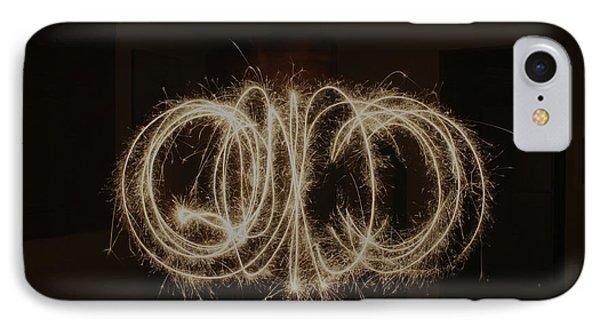 Sparkles IPhone Case by Cathie Douglas