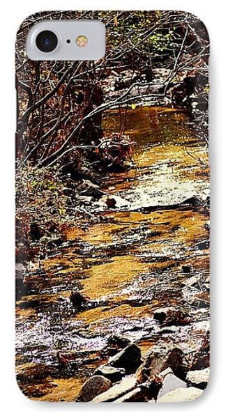 IPhone Case featuring the photograph Sparkling Creek by Tara Potts