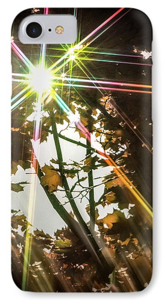 IPhone Case featuring the photograph Sparkling Dawn -twin by Glenn Feron