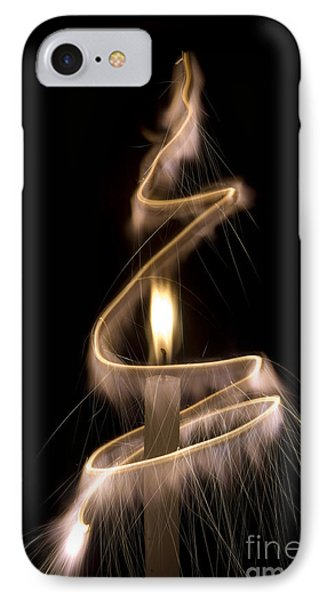 Sparkling Light IPhone Case by Tim Gainey