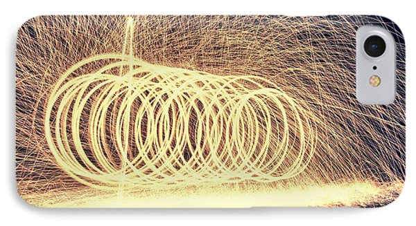 Sparks IPhone Case by Dan Sproul