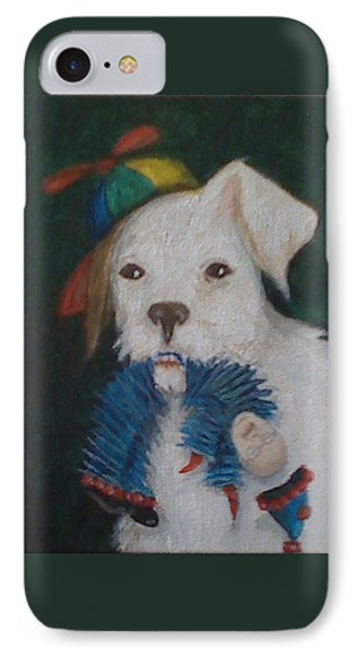Sparky And Dick IPhone 7 Case by Georgia Griffin