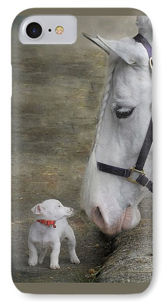 Sparky And Sterling Silvia Phone Case by Fran J Scott