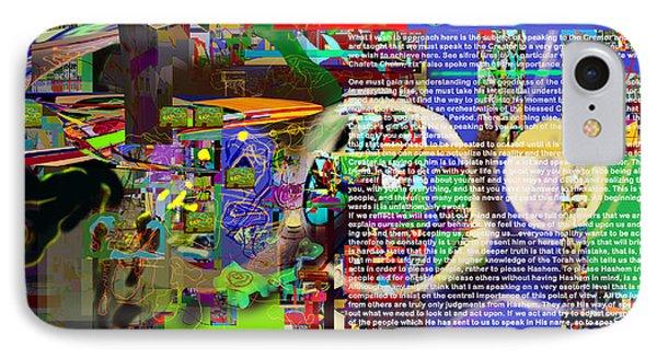 Speak To Hashem Phone Case by David Baruch Wolk