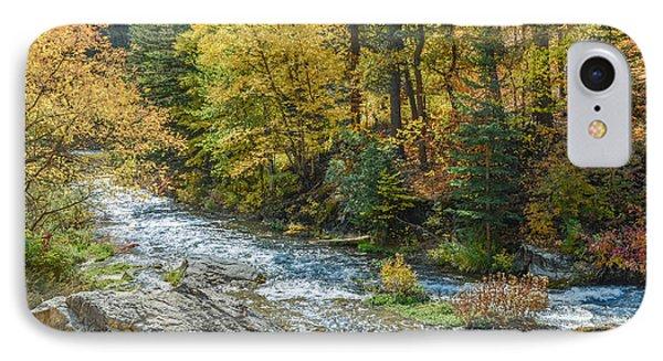 Spearfish Creek Autumn IPhone Case