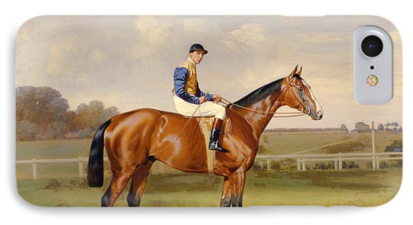 Spearmint Winner Of The 1906 Derby IPhone Case by Emil Adam