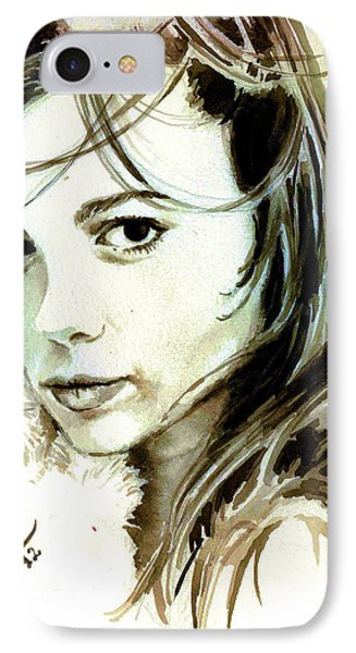 Special Friend Portrait IPhone Case