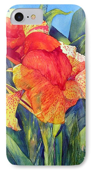 Speckled Canna IPhone Case