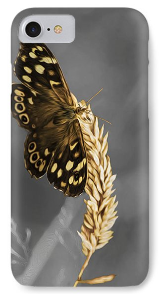 Speckled Wood Butterfly IPhone Case