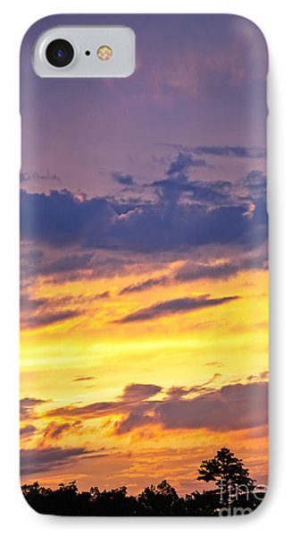 Spectacular Sunset IPhone Case by Elena Elisseeva
