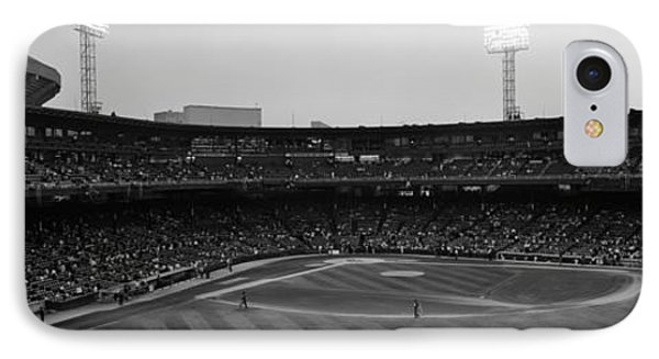 Spectators In A Baseball Park, U.s IPhone Case by Panoramic Images