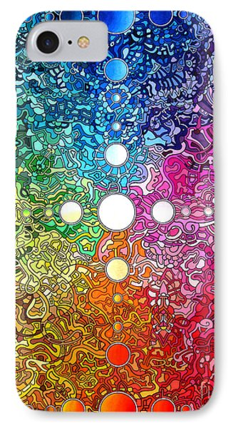 Spectrum Original IPhone Case by Devin  Cogger
