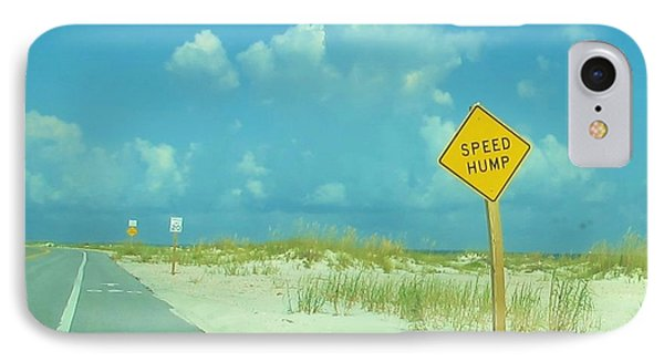 Speed Hump IPhone Case
