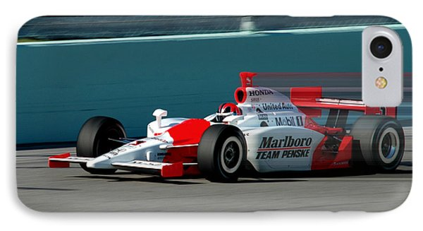 Speed Indy IPhone Case by Kevin Cable