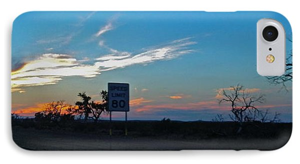 Speed Limit 80mph - No.0027 IPhone Case
