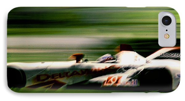 IPhone Case featuring the photograph Speed by Michael Nowotny