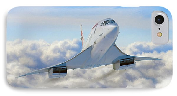 Speeding Above The Clouds Phone Case by Dale Jackson