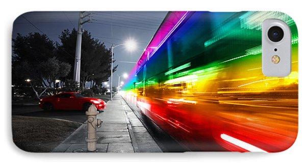 Speeding Bus Blurred Motion Phone Case by Konstantin Sutyagin