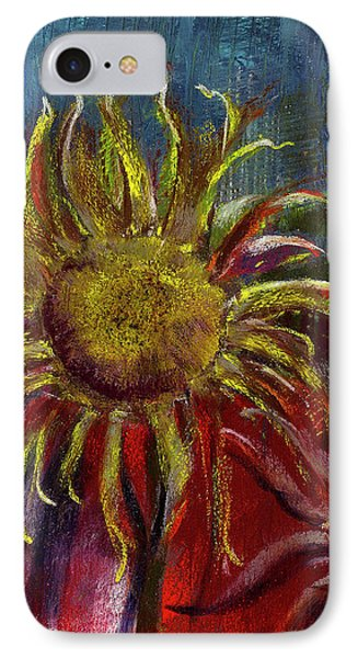 Spent Sunflower Phone Case by David Patterson