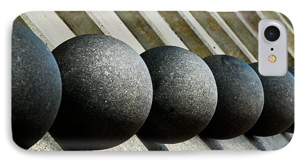 Spheres And Steps Phone Case by Christi Kraft