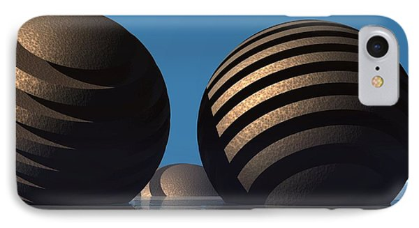 Spheres IPhone Case by Lyle Hatch