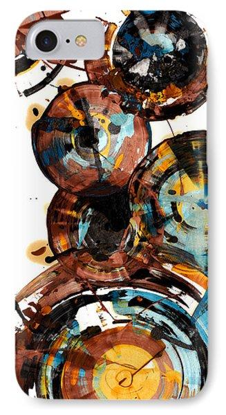 Spherical Happiness Series - 993.042212 IPhone Case by Kris Haas