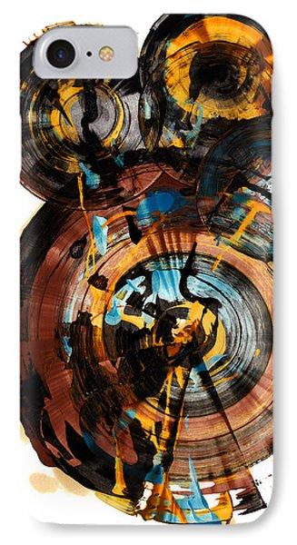 Spherical Happiness Series - 994.042212 IPhone Case by Kris Haas