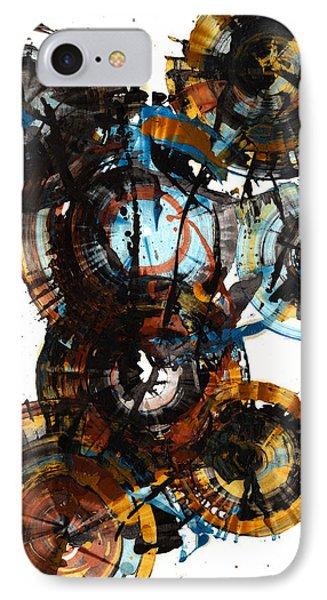 Spherical Joy Series - 995.042212 IPhone Case by Kris Haas